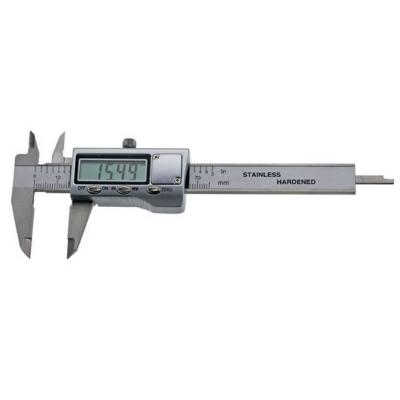 Kis méretű digitális tolómérő, 70/0,01 mm, fém házas, mérőpofa 30mm, MIB: 72026084