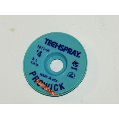 Kiforrasztó szalag Techspray 1811-5F: XL4-5 2,5mm 1,5m, ,