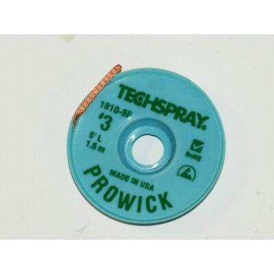 Kiforrasztó szalag Techspray 1810-5F: XL3-5 2,15mm 1,5m, ,