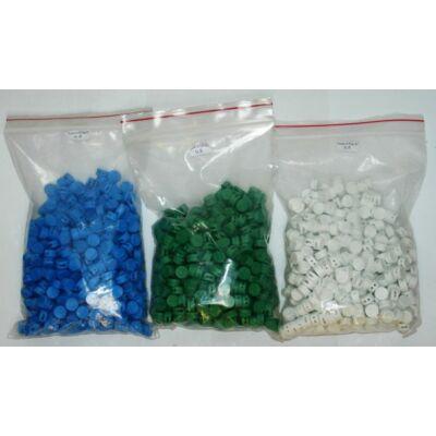 Műanyag plomba 500db/csomag átm9,8 : PLOMBA