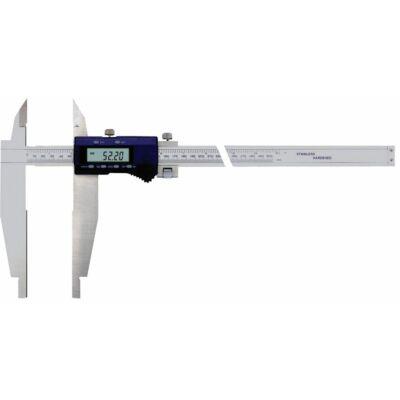 """Digitális precíziós műhely tolómérő mérőcsúccsal és furatmérő pofával  500/150-0,01/0,0005"""" MIB: 02027015"""