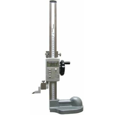 Digitális magasságmérő beállítókerékkel, előrajzoló, 0-300/0,03mm, leolvasás 0,01mm MIB 72027105