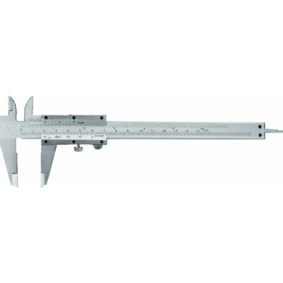 Analóg tolómérő, skála és nóniusz mattkrómozott, csavarrögzítéses: 150/0,05mm MIB: 01002007