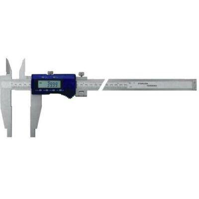 """Digitális műhely-tolómérő rozsdamentes, felső csőrrel 600mm/ 100mm 0,01/0,0005"""", MIB: 02027032"""