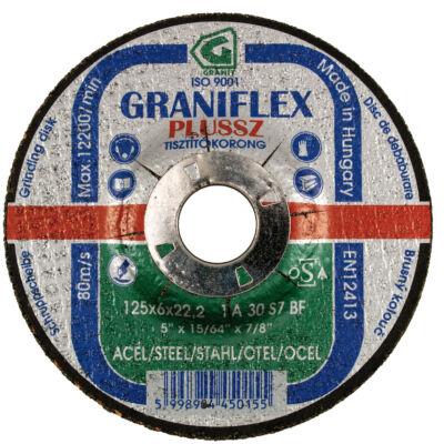 180x6,0x22,23mm Graniflex Plussz tisztítókorong 1A 30S7BF 80  GRANIT: 45027