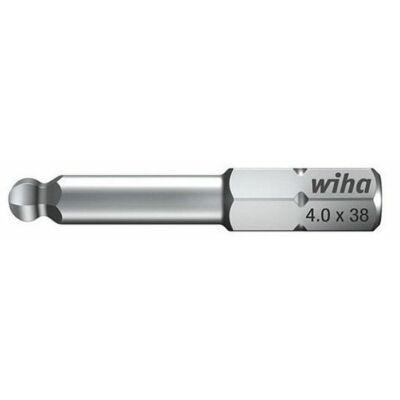 WIHA Standard-Bit, hatszög-gömbfejű, Form C 6,3. 7017 SW 4,0: 01738, ,