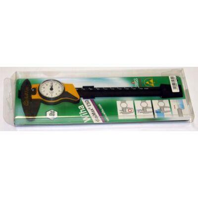 Mérőórás tolómér, műanyag kivitel 150-0,1 mm Wiha 31439