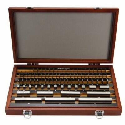 Mérőhasáb készlet, osztály: 1, acél 87 db Mitutoyo: 516-947-10