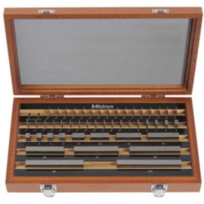 Mérőhasáb készlet tűrési osztály: 2 47 darab 1-9mm 516-964-10
