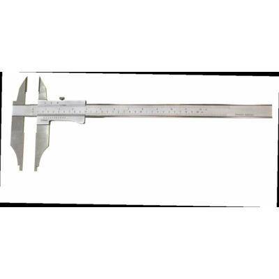 Analóg műhelytolómérő, alsó-felső mérőpofákkal, csavarrögzítéses 250/0,05mm, pofa 80mm MIB 81009006