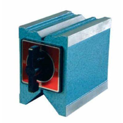 Mágneses mérő- és felfogó prizma 96x96x100 MIB: 06065025