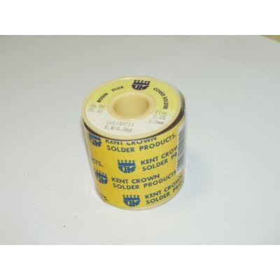 Forrasztó ón gyantás Kent 3mm/0,5kg Sn/Pb 60/40 , flux 2% 93711:55080