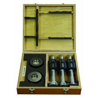 Digitális hárompontos furatmikrométer készlet, racsnival 75-100mm Mitutoyo: 468-985