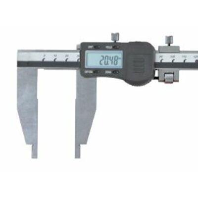 Digitális műhelytolómérő alsó mérőpofával, finomállítóval, 200/0,03mm pofa 75mm MIB 82026055