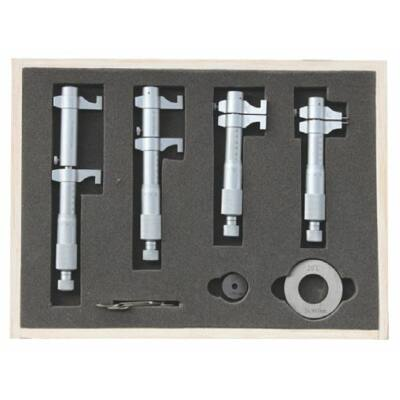 Belső mikrométer készlet beállítógyűrűkkel, 6-részes  5-100/0,01mm MIB 81021098