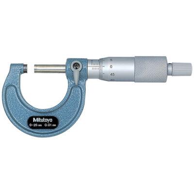 Külső mikrométer 0-25/0,01mm Mitutoyo: 103-137