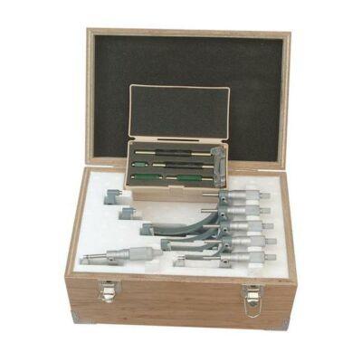 Külső mikrométer készletben 0-150 6db+etalom Mitutoyo: 103-913-50