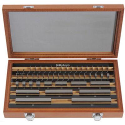 Mérőhasáb készlet, osztály: 1, acél 47 db Mitutoyo: 516-963-10