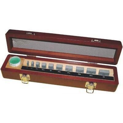 Mérőhasáb készlet, osztály: 1, acél 10 db mikrométer kalibráláshoz Mitutoyo: 516-107-10