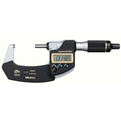 DIGIMATIC IP65 hűtőfolyadéknak ellenálló mikrométer pontosság 0,001 25-50 Mitutoyo: 293-241-30