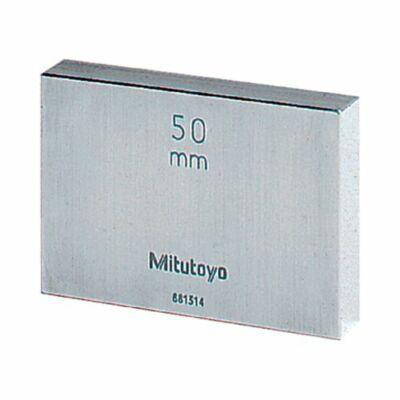 Mitutoyo Acél mérőhasábok 50mm (metrikus) 1-es osztálypontosság 611675-031