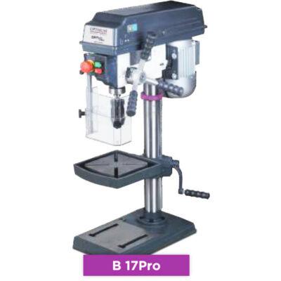 Oszlopos fúrógép OPTIdrill B 17Pro 230V/500W 5 fokozat 565x275x840 mm MK2 39 kg Optimum: 3003171