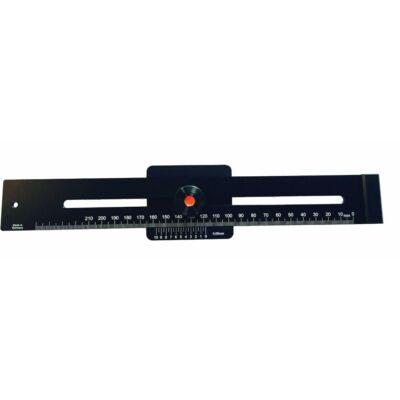 Párhuzam jelölő vonalzó 200 mm MIB: 05057020