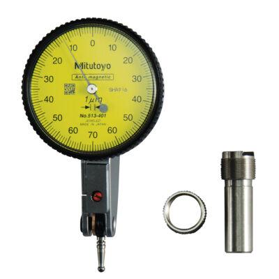 Szögtapintós mérőóra vízszintes 0,14 - 0,001- 0-70-0 - 12,8 Mitutoyo 513-401-10E