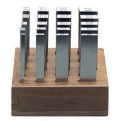Párhuzamosság etalon készlet, 2/3/4/5/6mm széles, 100mm hosszú, 20 pár MIB 86062096