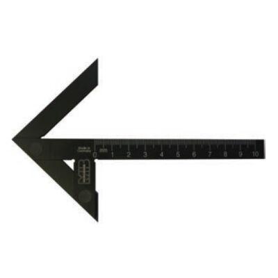 Precíziós központozó derékszög szár hossz 100 mm MIB 03044020