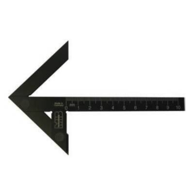Precíziós központozó derékszög szár hossz 300 mm MIB 03044024