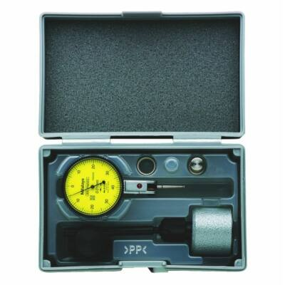 Szögtapintós mérőóra készlet Mitutoyo óra 513-404-10E 0,8/0,01 mm, mini mágneses állvány 7014