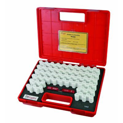 Mérőcsap készlet tartóban, pontosság +-0,004 mm 4,01-5,00 mm-ig MIB 06061003