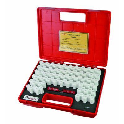 Mérőcsap készlet tartóban, pontosság +-0,004 mm 9,01-10,00 mm-ig MIB 06061008