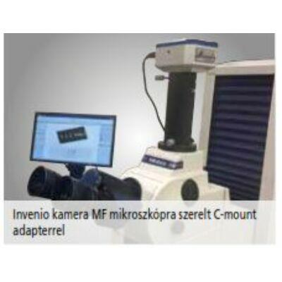Invenio5SCIII digitális USB színes kamera, 0,5X optikai C-mount adapter Mitutoyo: 63AAA355