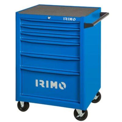 Szerszámkocsi 6-fiókos, 3 szivacsbetétes tálcával, 206-részes szerszámkészlettel IRIMO 9066K6FF100