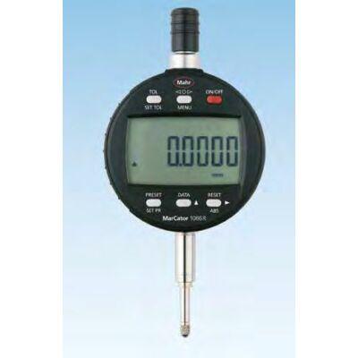 """1086 R Digitális mérőóra tűrés kijelzővel 12,5mm/.5"""" állítható osztásérték Mahr: 4337130"""