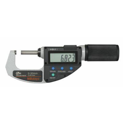 Digitális mikrométer Quickmike IP65 0-30 mm Mitutoyo: 293-666-20 Mi