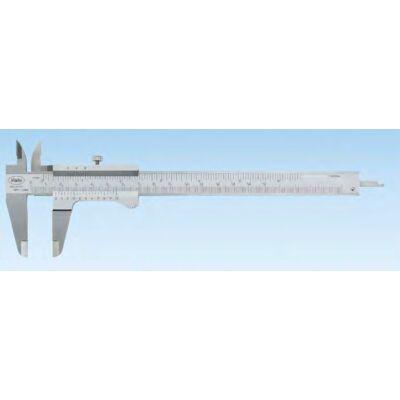 """16 FN Tolómérő skálás kijelzővel, pontos nóniusszal 200mm, 1/128""""/0,05mm Mahr: 4100401"""
