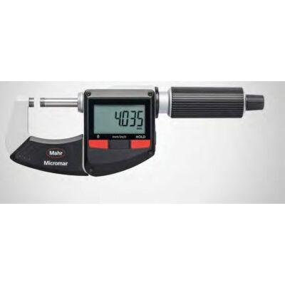 """40 ER  Digitális kengyeles mikrométer 0-25mm/0-1"""" Mahr: 4157010"""