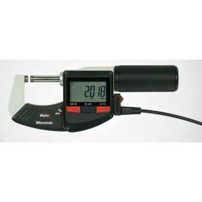 40 EWR-L  Digitális kengyeles mikrométer 25-50mm , USB, Digimatic Mahr: 4157021