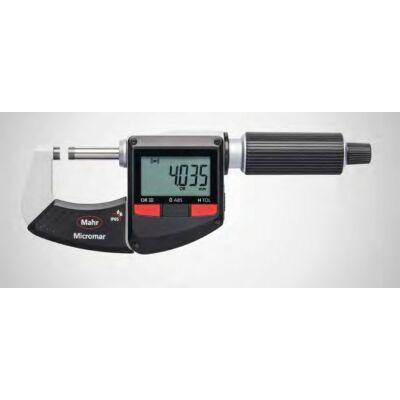 """40 EWRi  Digitális kengyeles mikrométer, vezeték nélküli kapcsolat 25-50mm/1-2"""", Mahr: 4157101"""