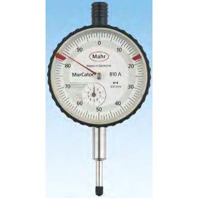 810 A [05] Precíziós mérőóra 50 mm-es számlap, 10mm/ 0,01mm Mahr: 4311050