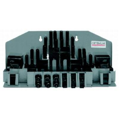 SPW 10 -  58 részes leszorító készlet 12 mm horony, M10 Optimum: 3352016