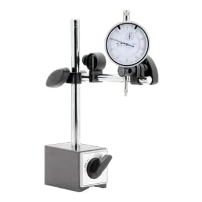 Mágneses mérőóraállvány+0-10mm-es mérőóra, 78x50x55mm, szár 8mm, magasság 180mm Asimeto 601-02-9